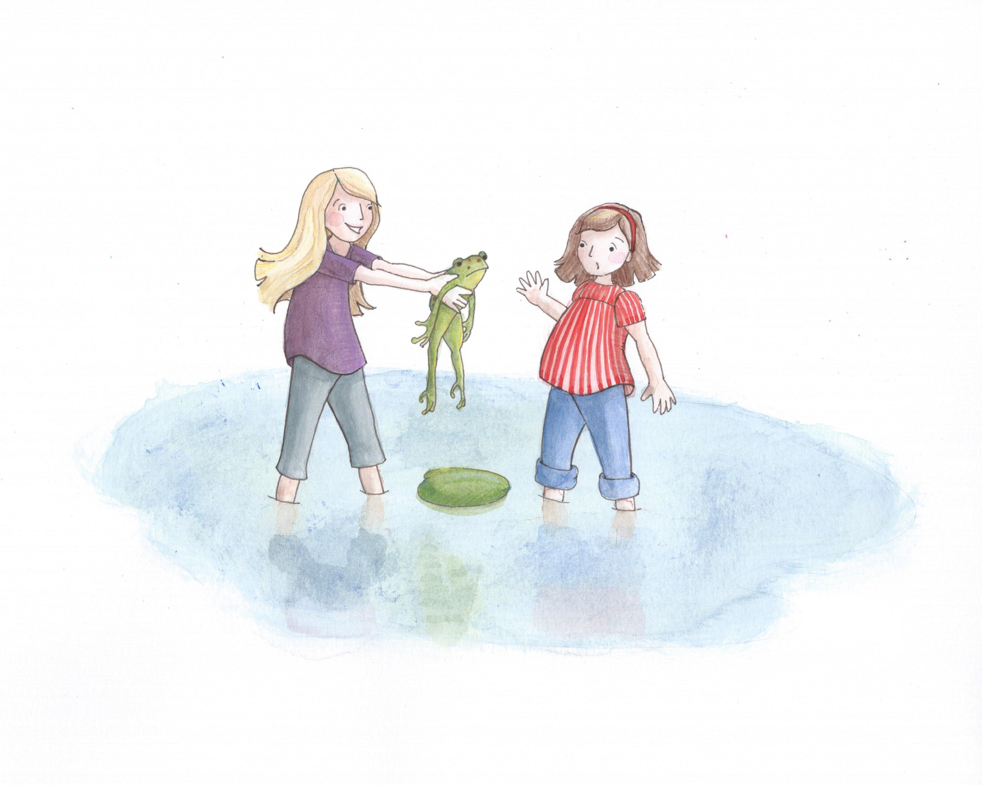 frog & girls 10.1.15 copy.jpg