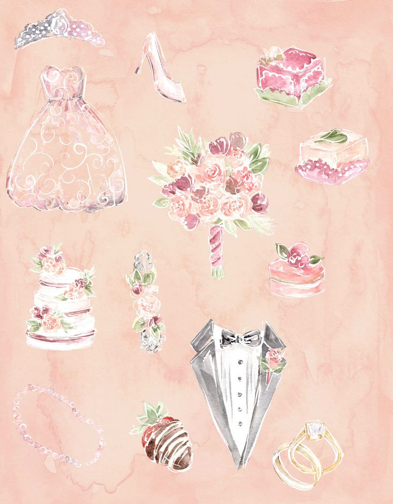 white outlines and wedding items combined.jpg