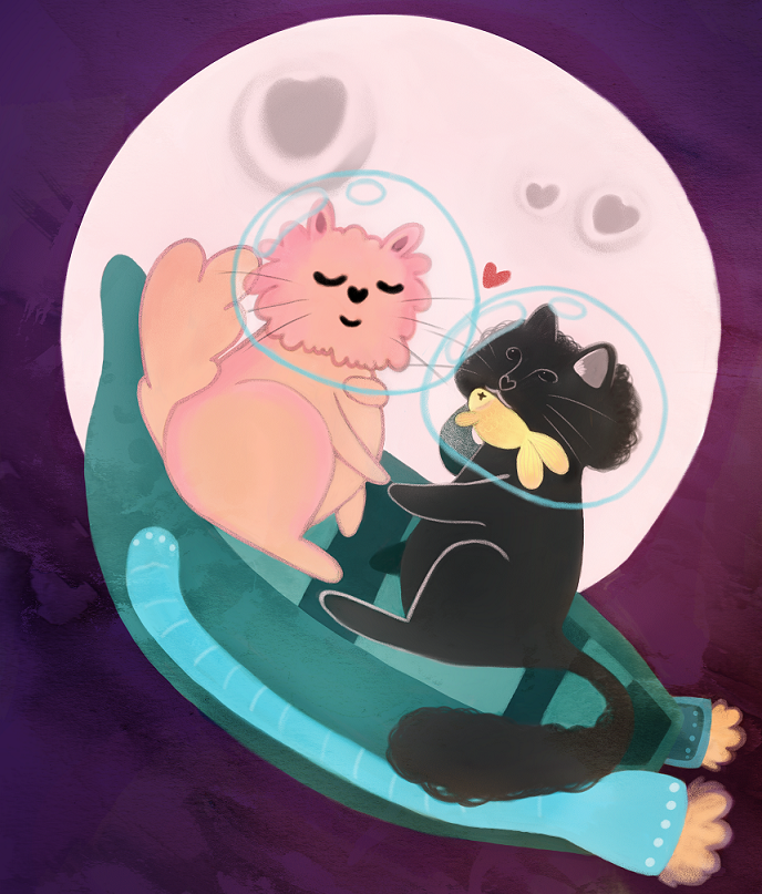 Love cats boat 14small.png