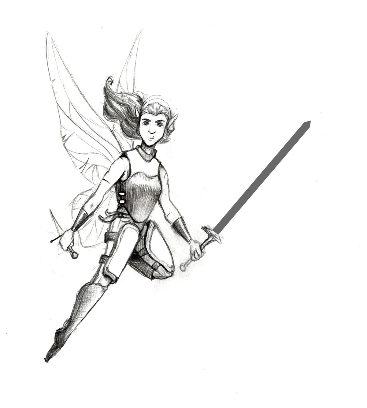 Warrior Fairy-Pencil Sketch.jpg