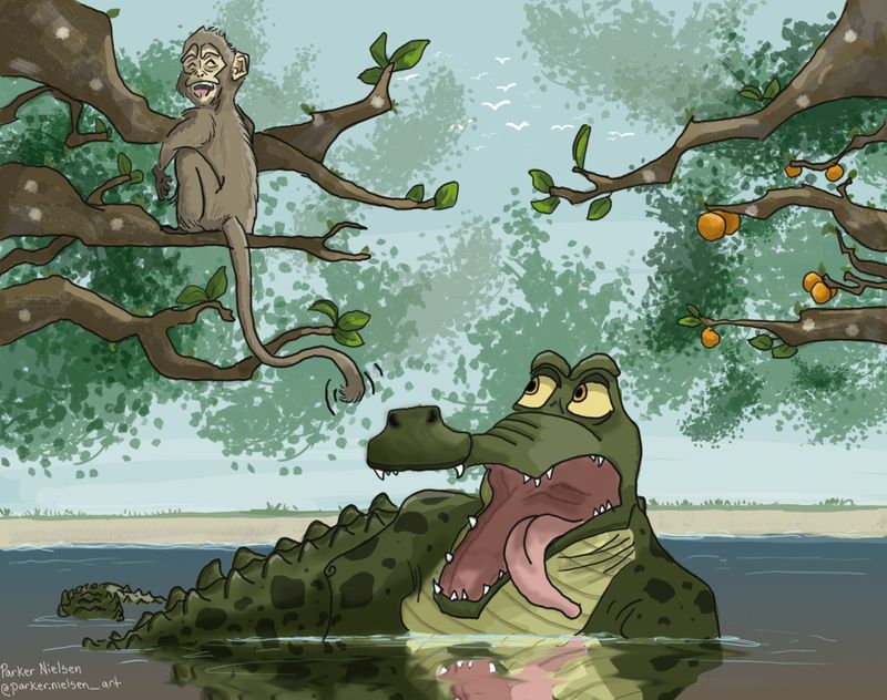 monkey and alligator illustration parker nielsen svs learn.jpg