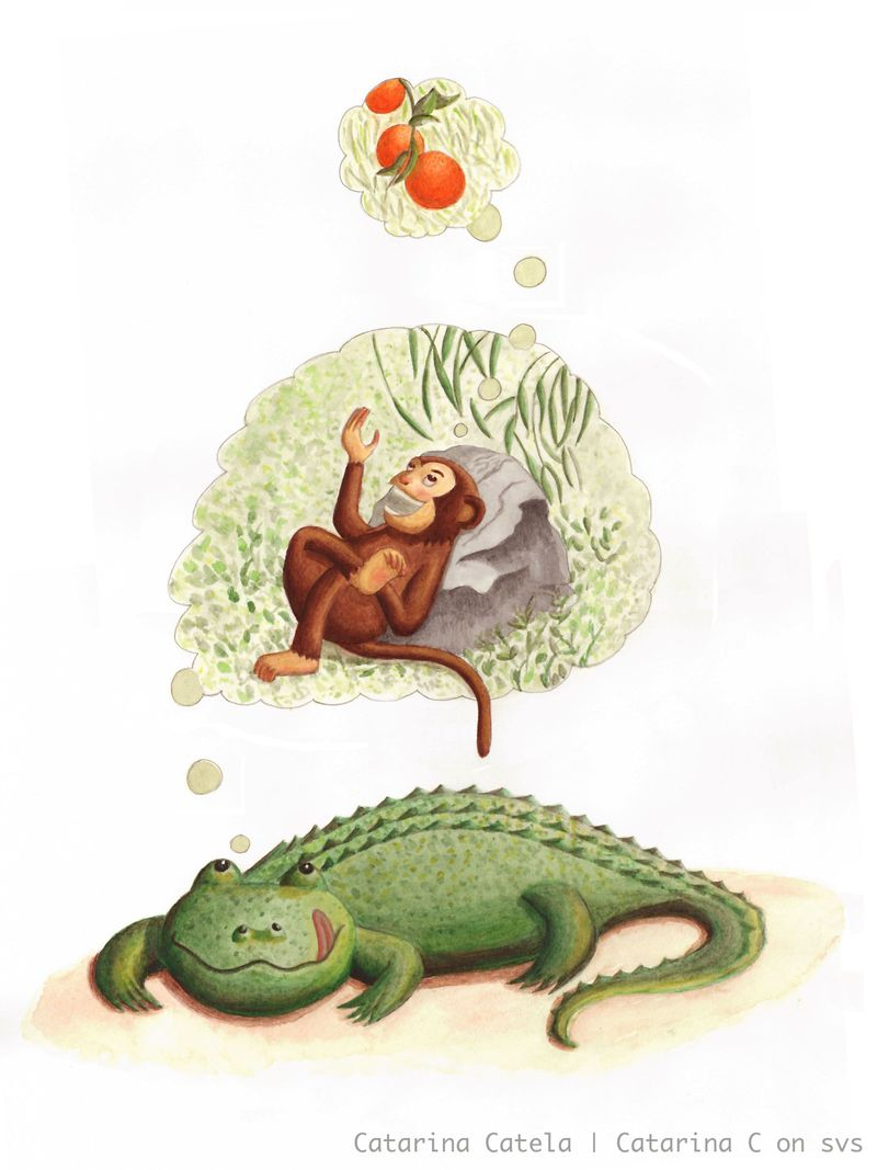 The crocodile:monkey tale svs.jpg